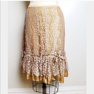 Incredibly Gorgeous Fall Tracy Reese Skirt Sz 6